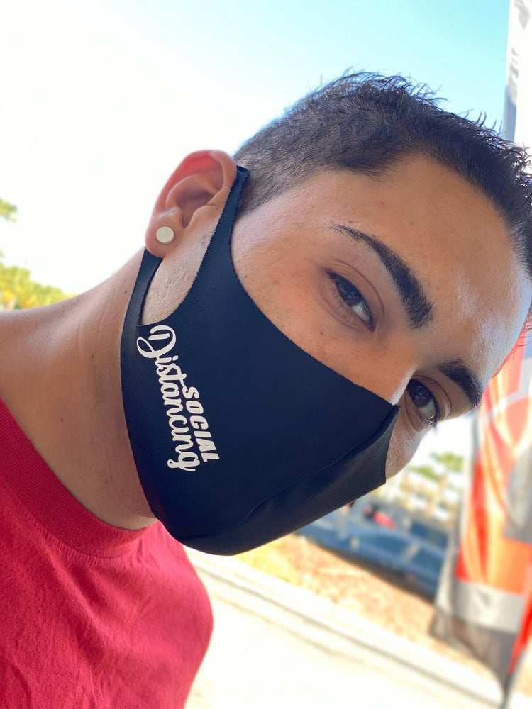 Image of SOCIAL DISTANCING FACE MASK