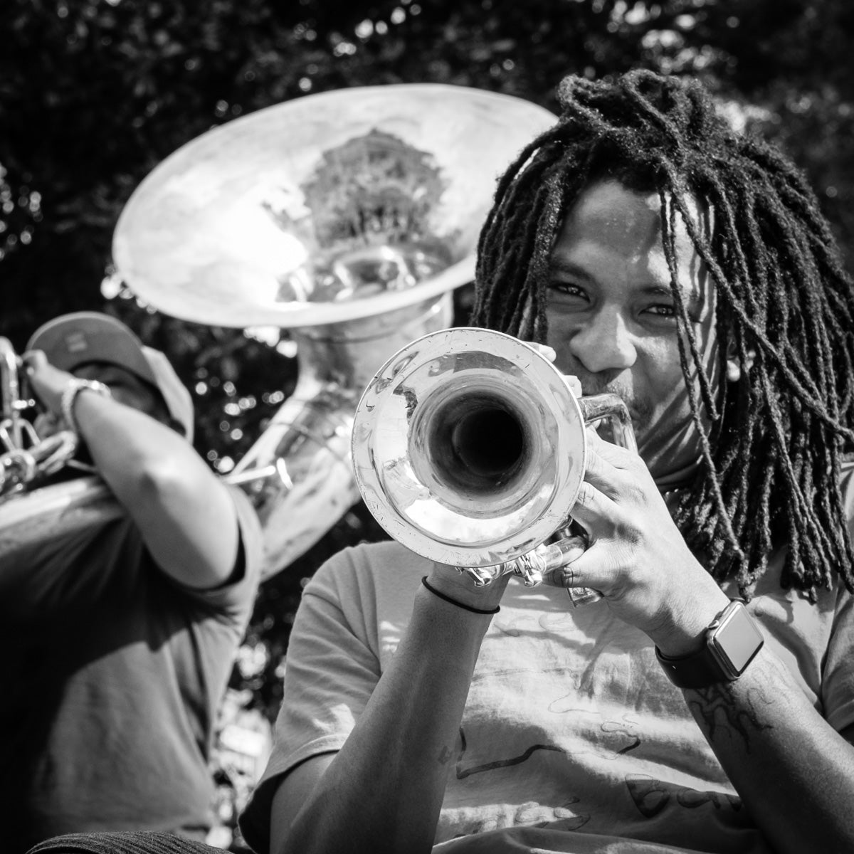 Smiling Brass / New Orleans Photography Print