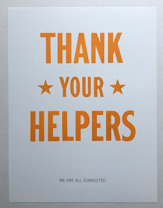 Image of Thank Your Helpers