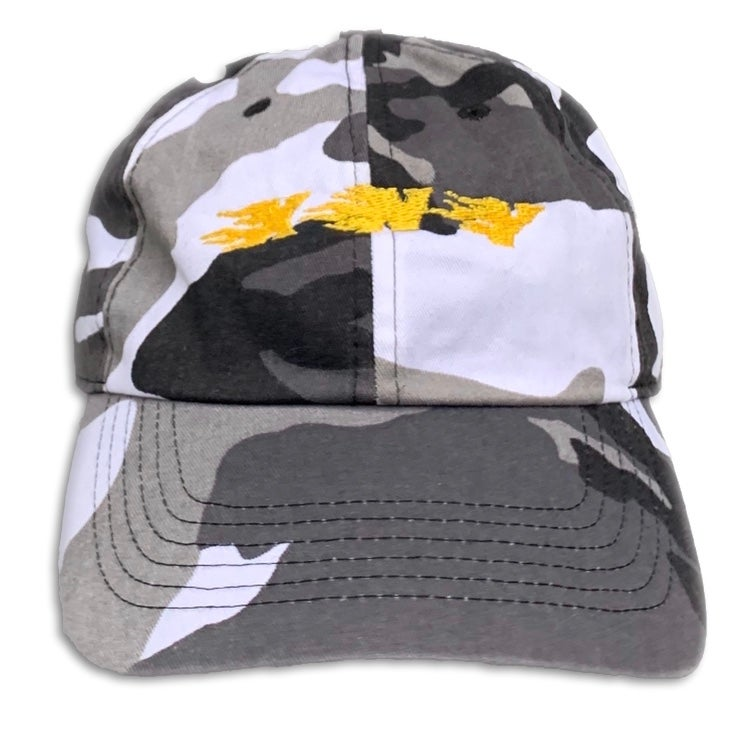 Image of XNY FLAME BASEBALL CAPS ⚾️ 🔥 (CAMO)