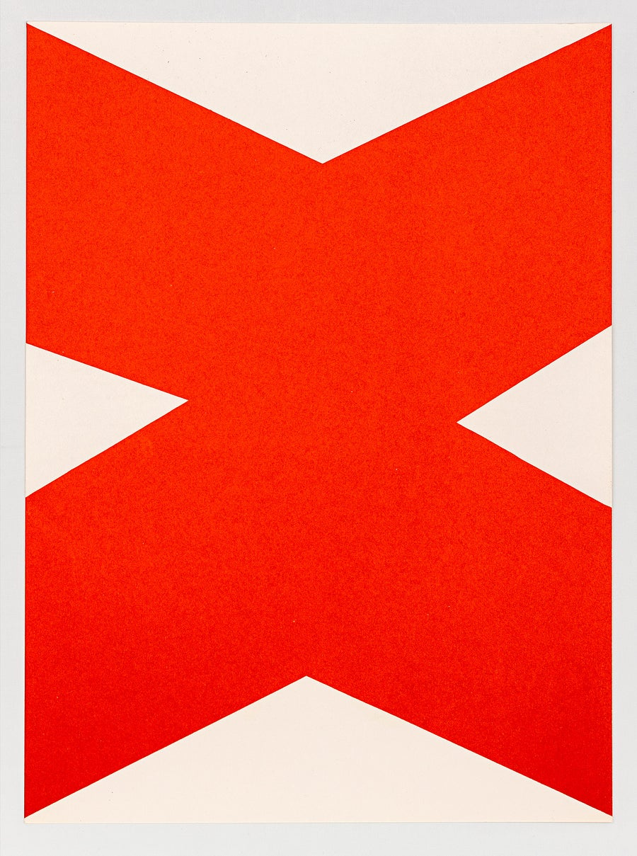 Image of Ellsworth Kelly, Derrière le Miroir - Kelly No. 110, 1958, r