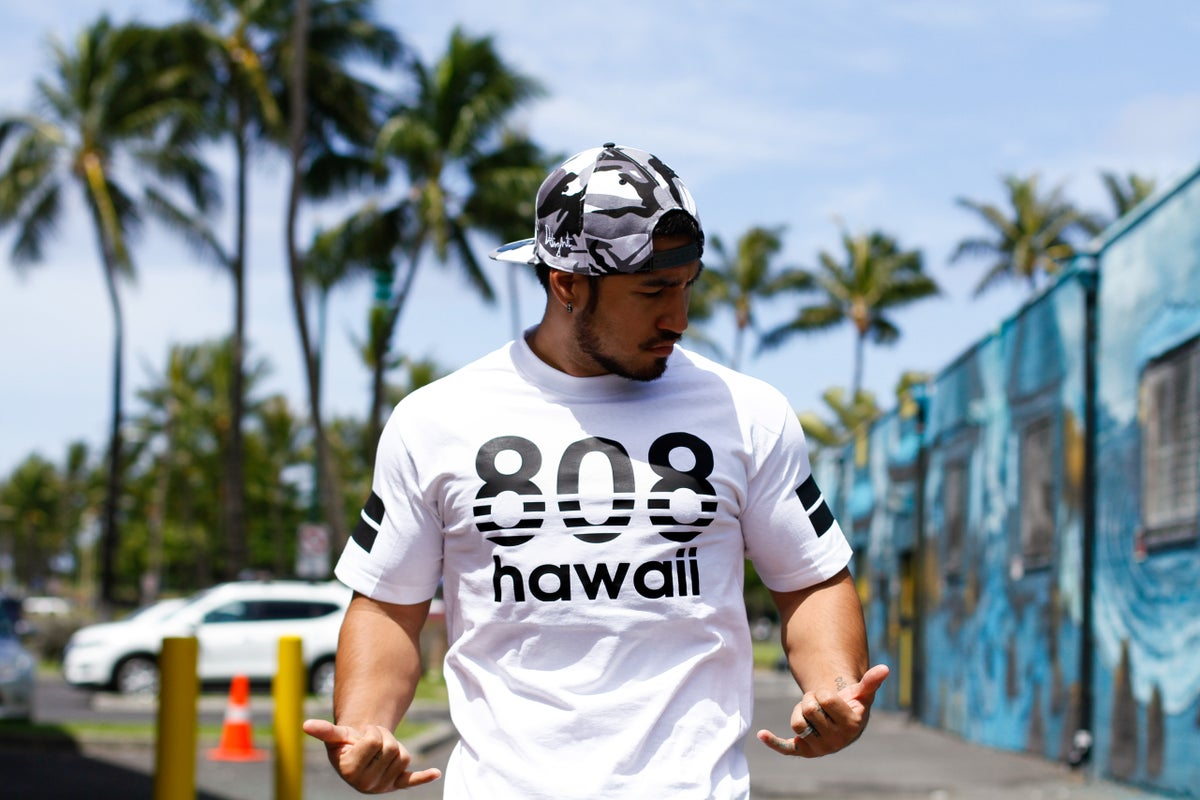 808 Hawaii T-shirt (White)