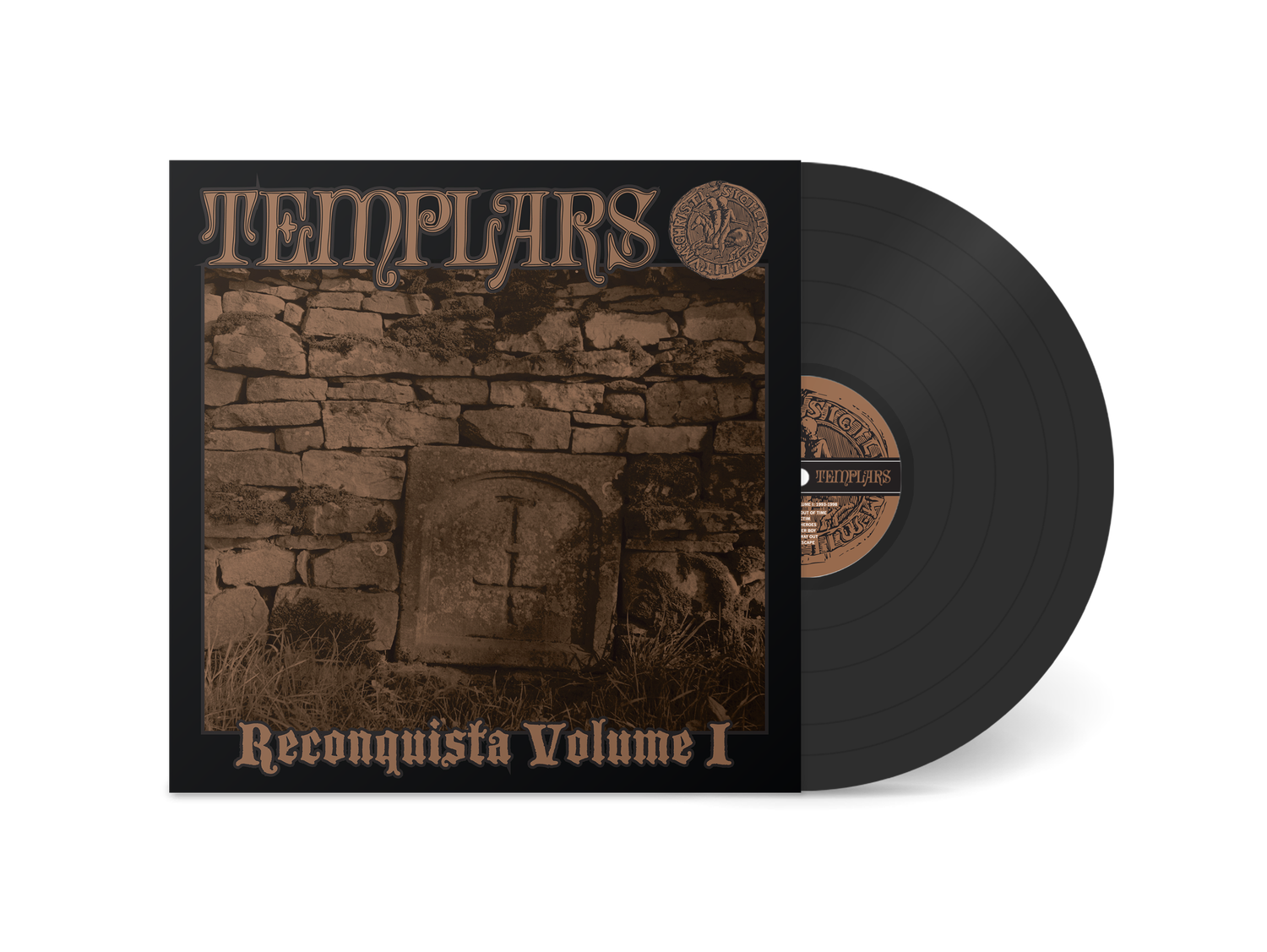 "Image of TEMPLARS - ""Reconquista Volume I"" LP (Standard Version)"