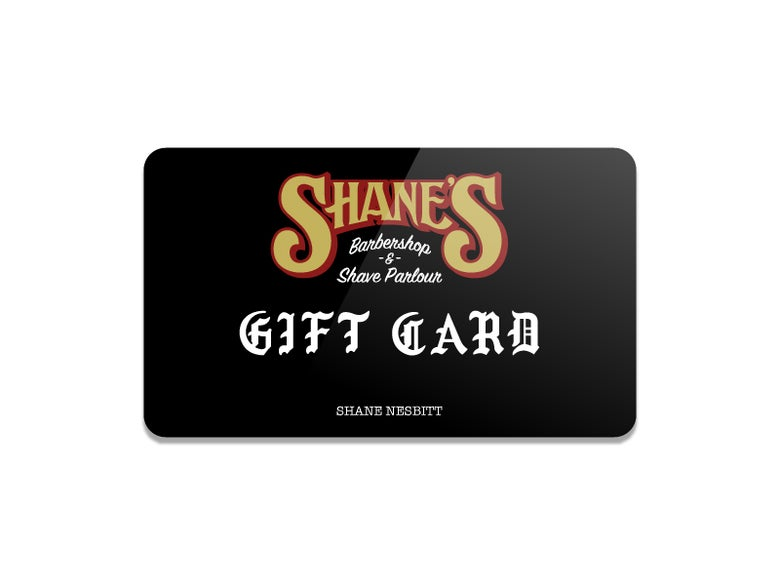 "Image of Shane's ""Gift Card"""