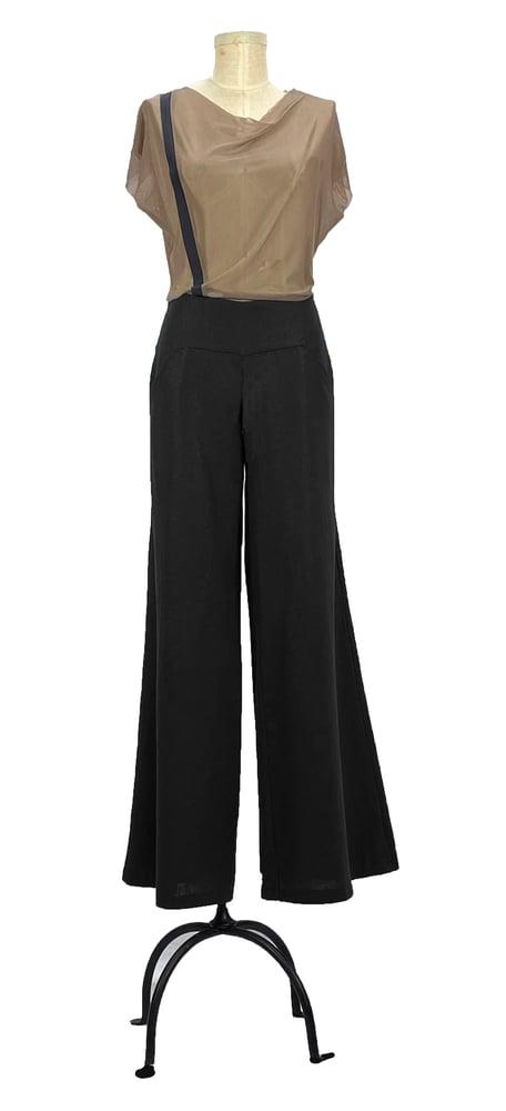 Image of Aquafina pants black