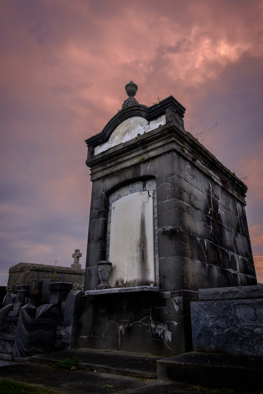 Cross / New Orleans Cemetery Photography Print