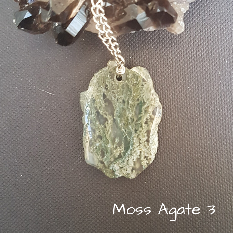 Image of Moss Agate Necklace