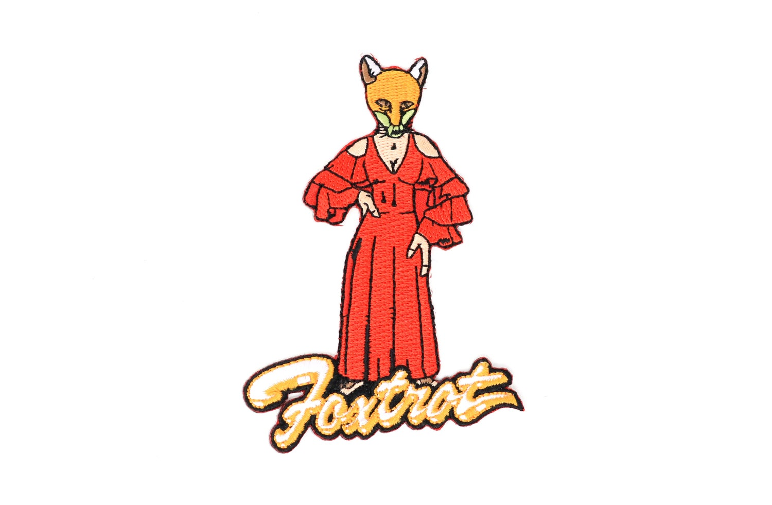 Image of Genesis - Foxtrot Iron On Patch