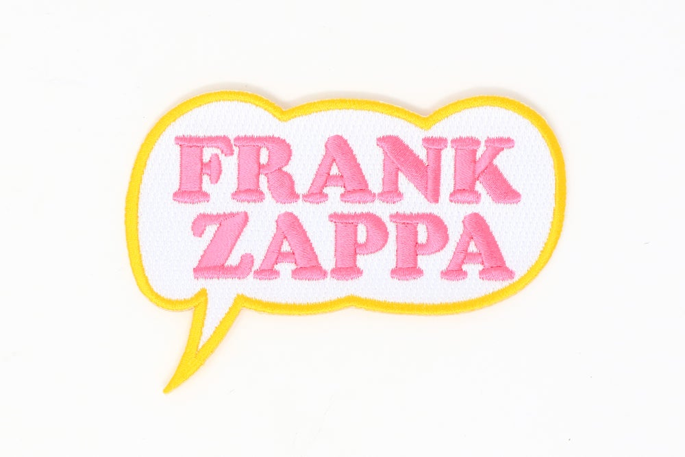 Image of Frank Zappa - Frank Zappa Bubble Patch