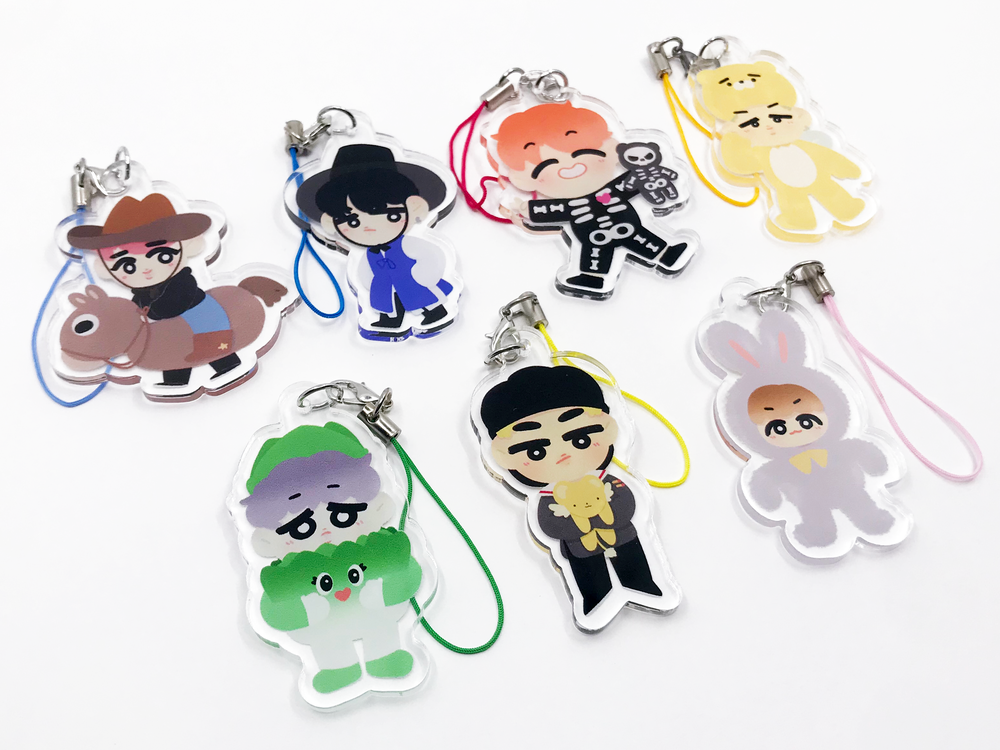 Image of [royalchatea] BTS Halloween Charms