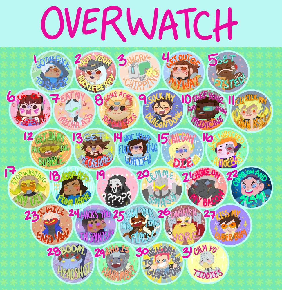 Overwatch Buttons!