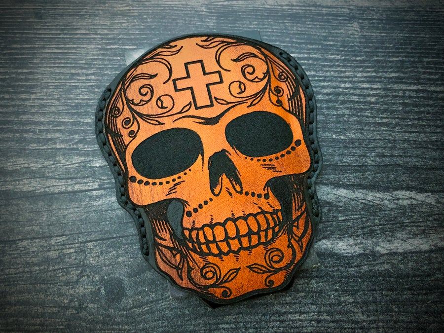 Image of 2Faced Candy Skull