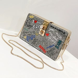 "Image of ""Fab"" Chain Strap Bag"