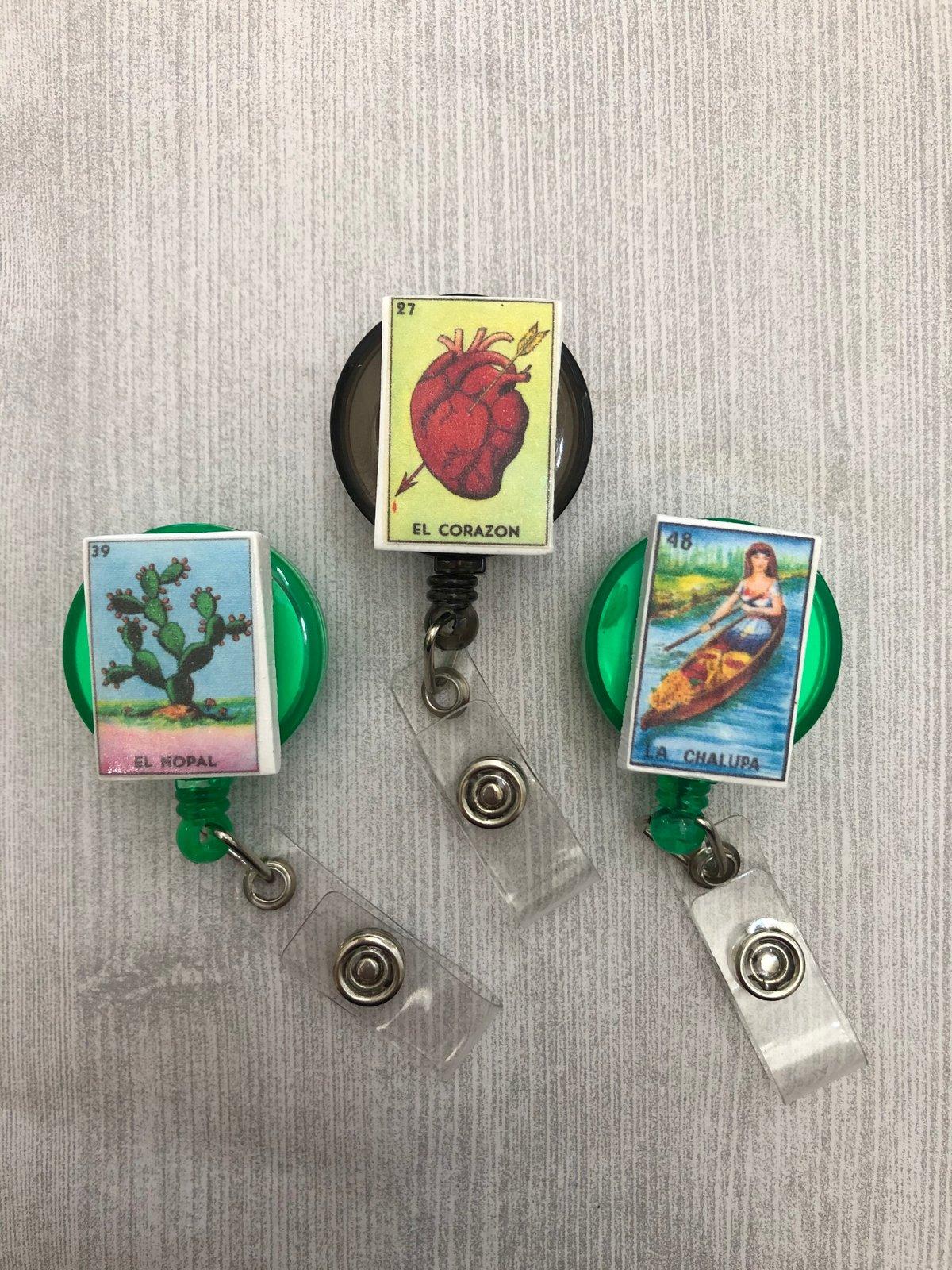 Lotería Badge Reels