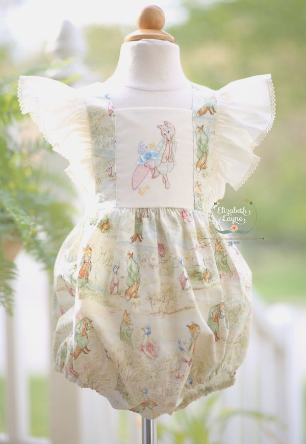 Image of Beatrix Potter Toile Legacy Bubble