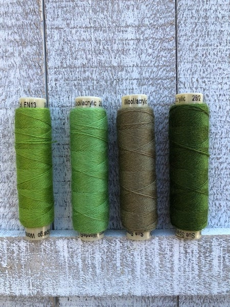 Image of Ellana Wool Thread EN13, EN14, EN15, EN16