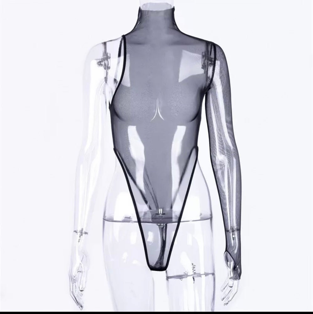 Image of Janet Sheer Bodysuit