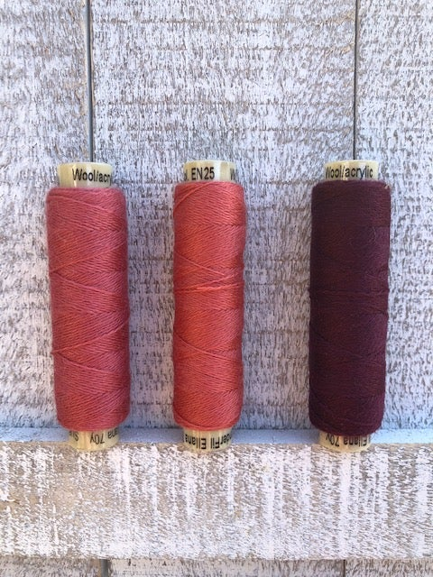 Image of Ellana Wool Thread EN24, EN25, EN26