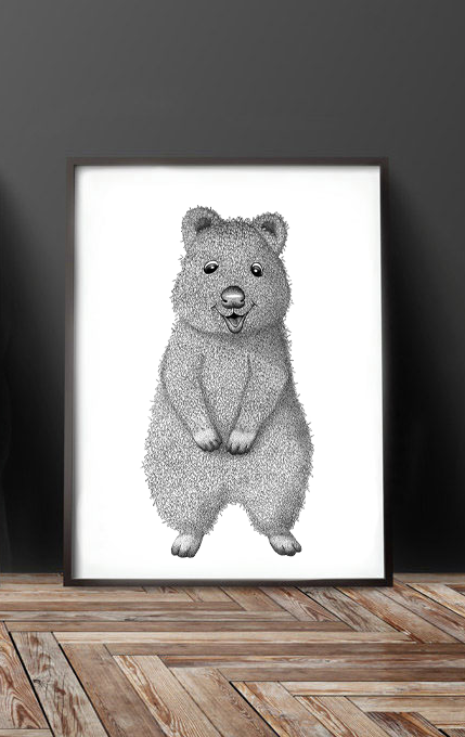 Image of Cute Quokka