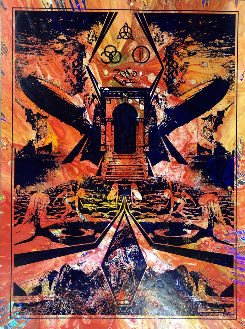 Image of ZEPPELIN V - Mystery CENTRIFUGE • Original Art