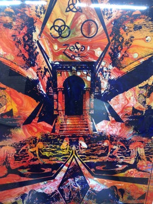 Image of ZEPPELIN V - Mystery CENTRIFUGE • Original Art