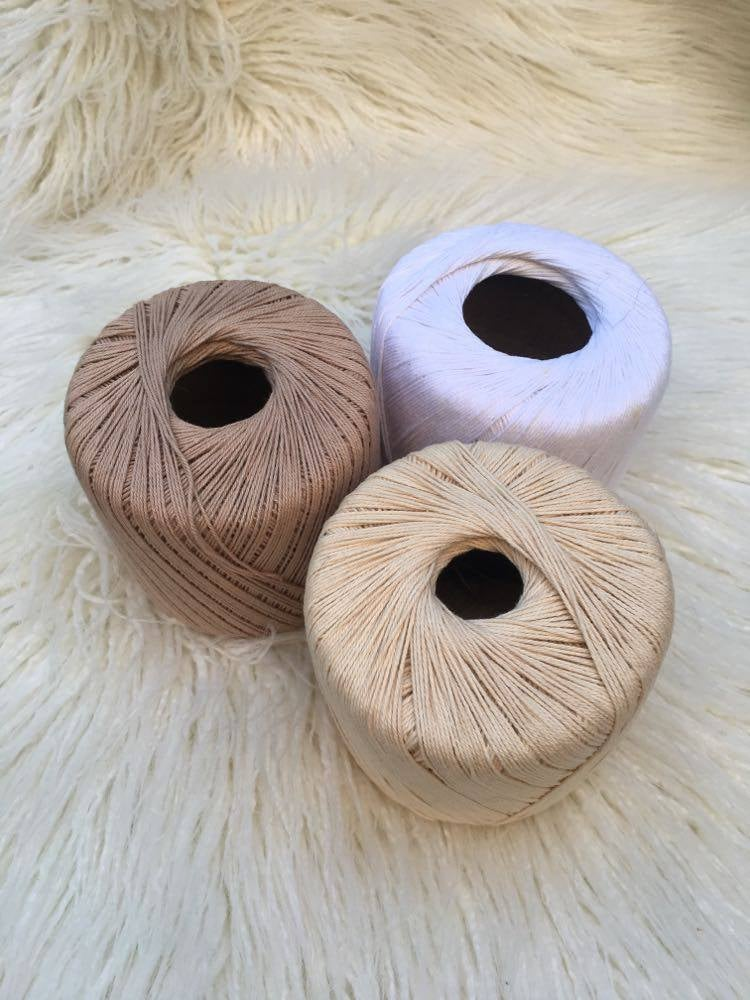 Image of Weft Thread 50g (Crochet Cotton) For Warping Up Your Loom