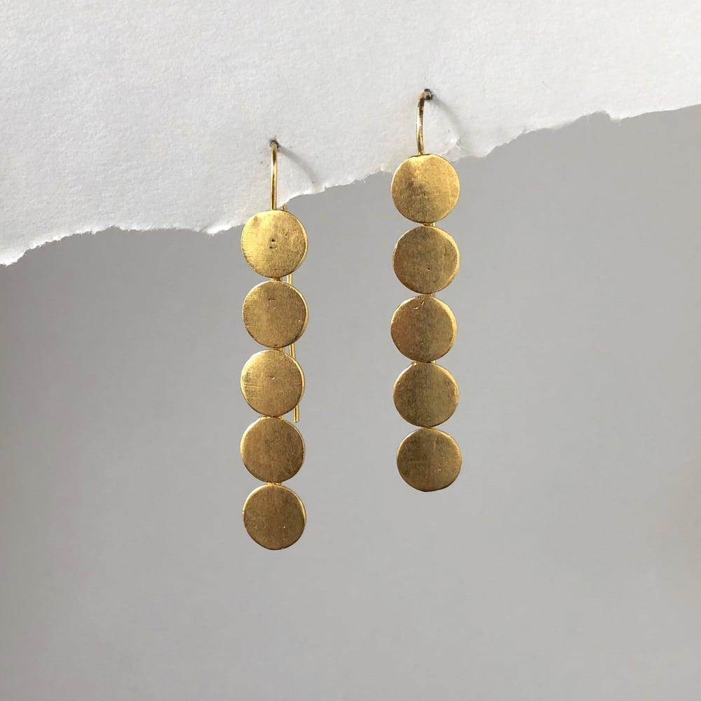 Image of Gold Dot Earrings
