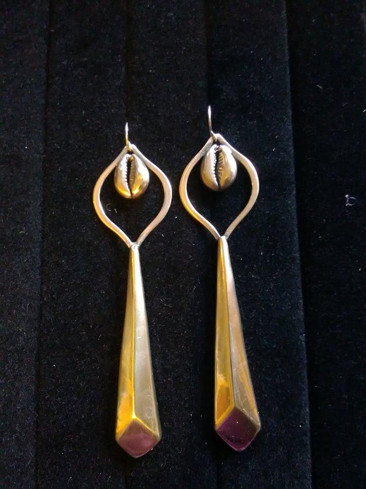 Image of Copper Ear-Rings (2)