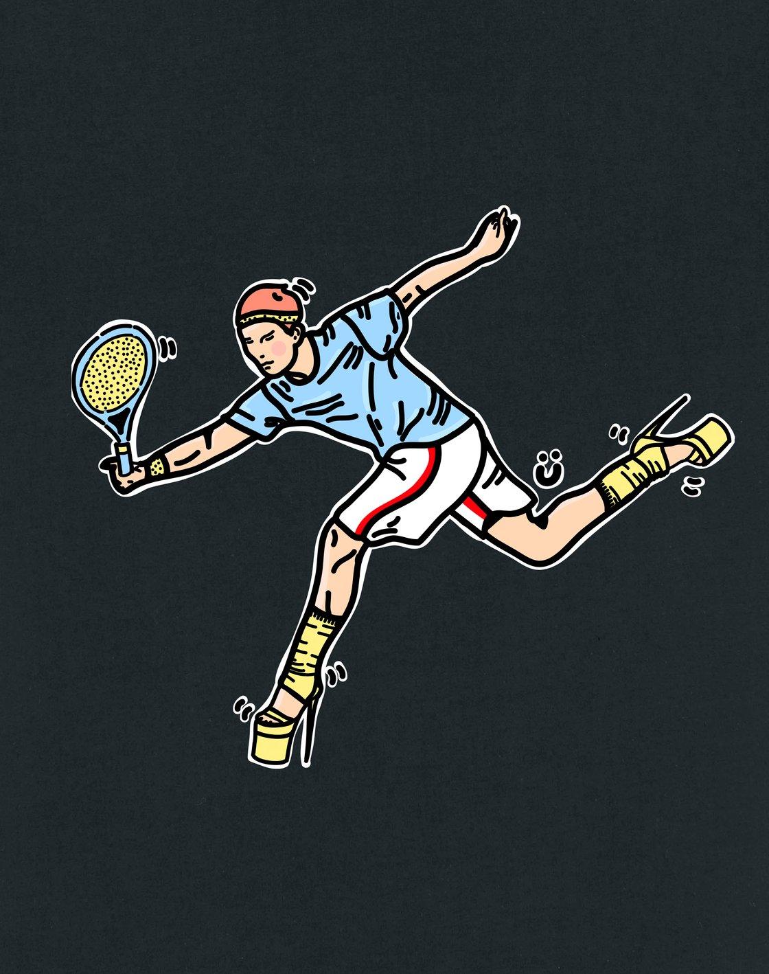 Image of Tennis Gurl