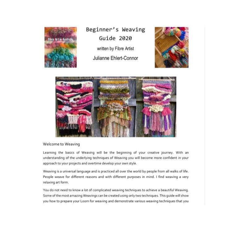 Image of Fibre Art in Australia Beginner's Weaving Guide 2020