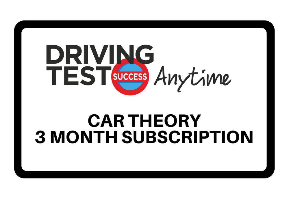 Image of Theory Car: 3 month subscription - Driving Test Success