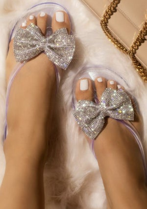 Image of Bling Bow Pool Flip Flop