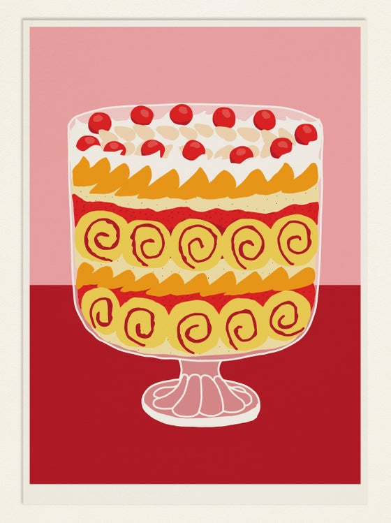 Image of Cake poster: TRIFLE (UK)