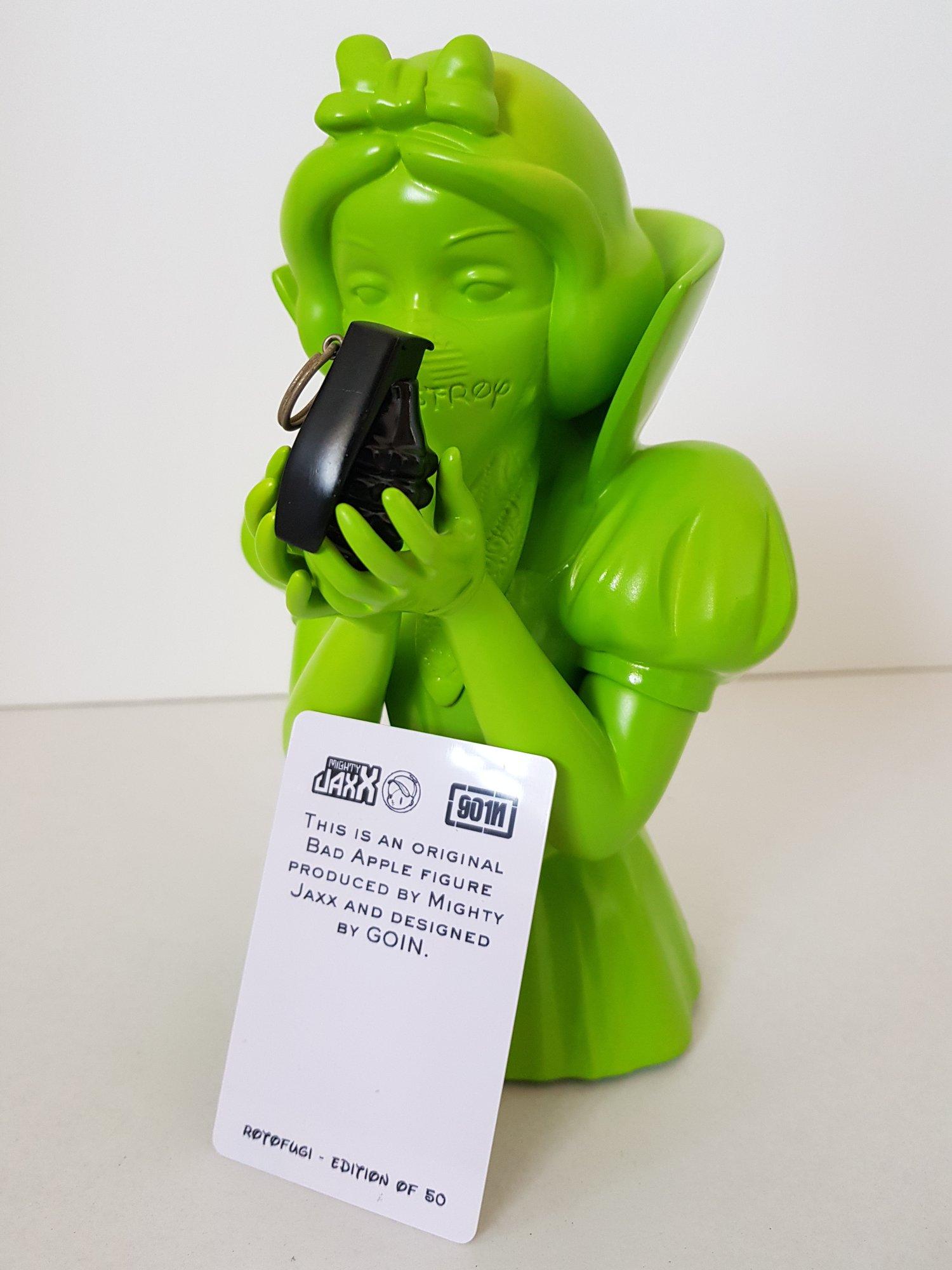 Image of GOIN - BAD APPLE SCULPTURE - LTD ED 50 - 2013 - IN ORIGINAL BOX