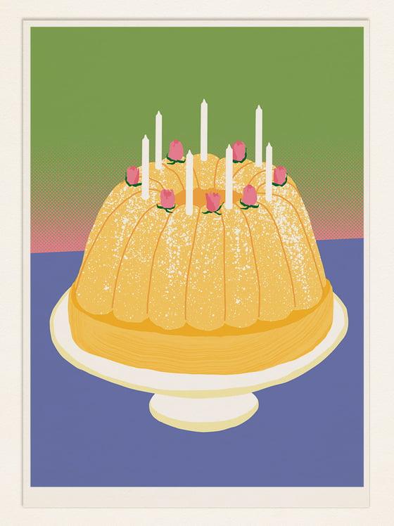Image of Cake Poster: GUGELHUPF (Eastern Europe)