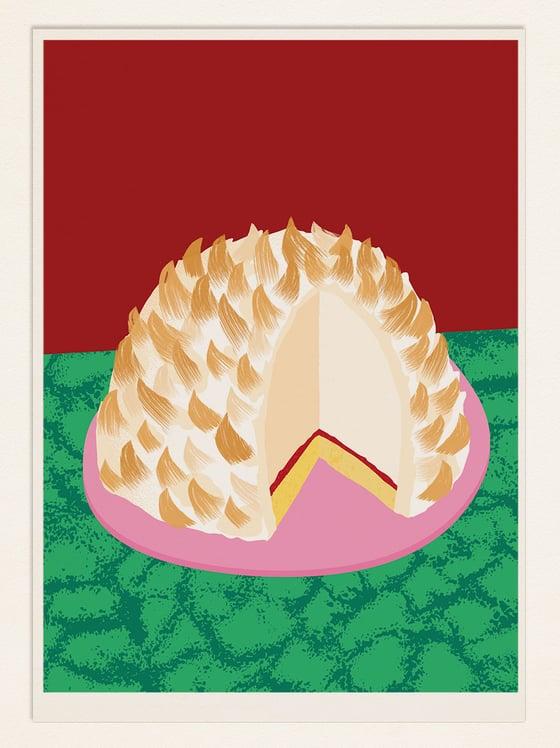 Image of Cake Poster: BAKED ALASKA (USA)