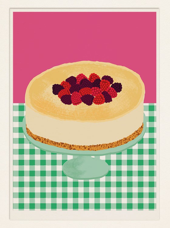 Image of Cake Poster: CHEESECAKE