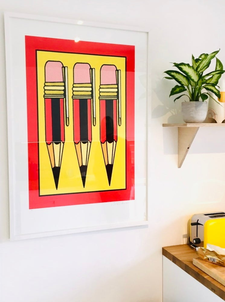 Image of Pencil Pusher by Charlie Evaristo-Boyce