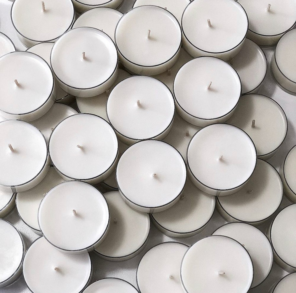 Image of MAXI SCENTED SOY TEALIGHTS PACK OF 3