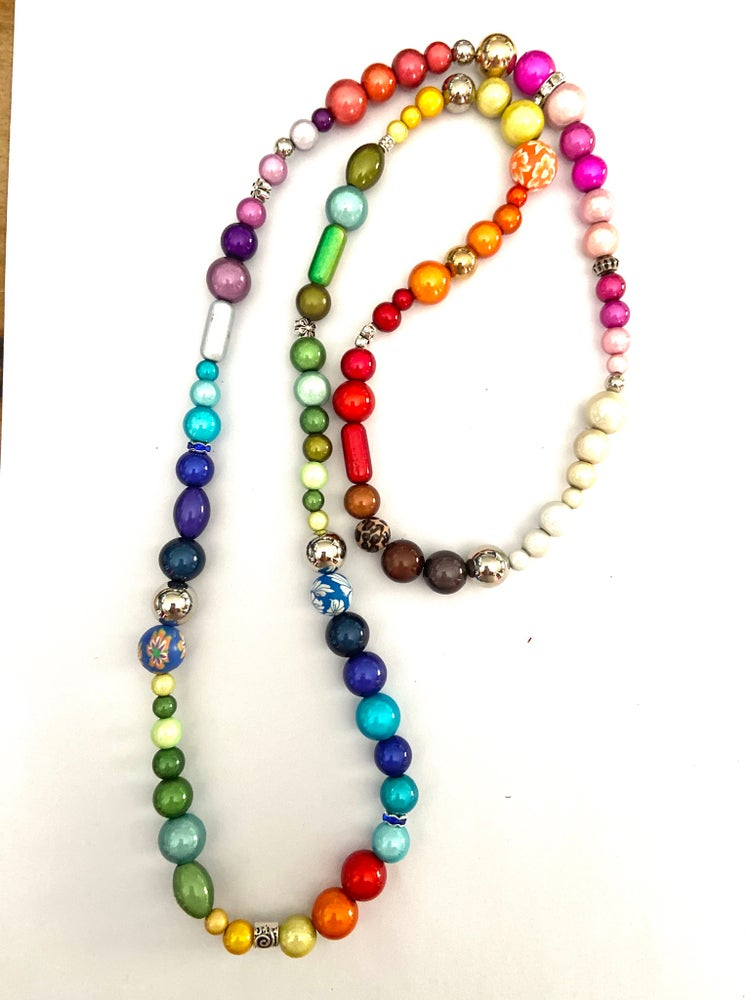 Image of Funky Necklace (Long 35inch)