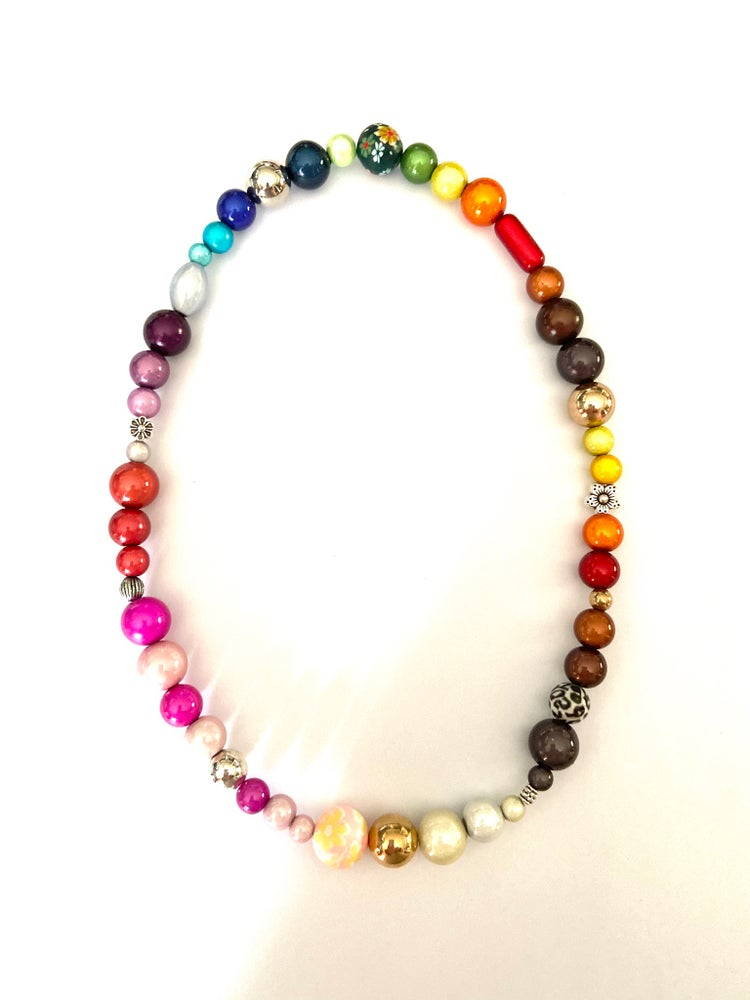 Image of Glow Bead Funky Necklace (18inch) - Prices from £8