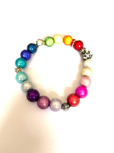 Image of Glow Bead Funky Bracelet - Prices From £3