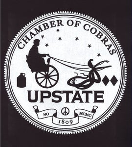 Image of Upstate Chamber of Cobras Back Patch