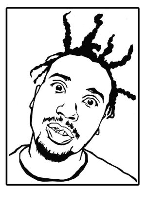 Image of FREE HIP HOP HEADS COLOURING IN