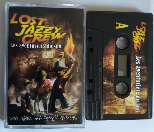 Image of Lost Jazzy Crew - Les Aventuriers Du Son - (K7)