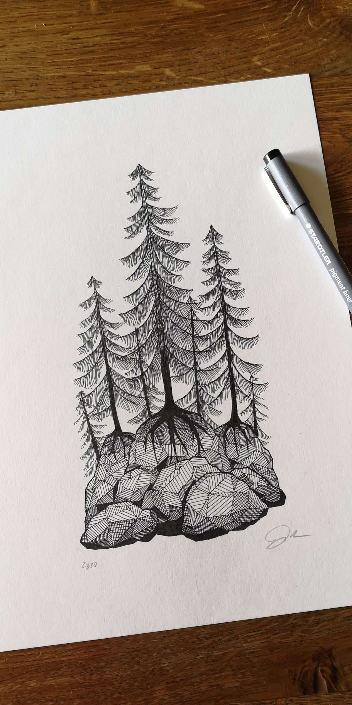Image of Print: Tiny Forest