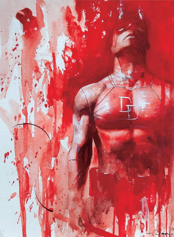 Image of Daredevil matte prints