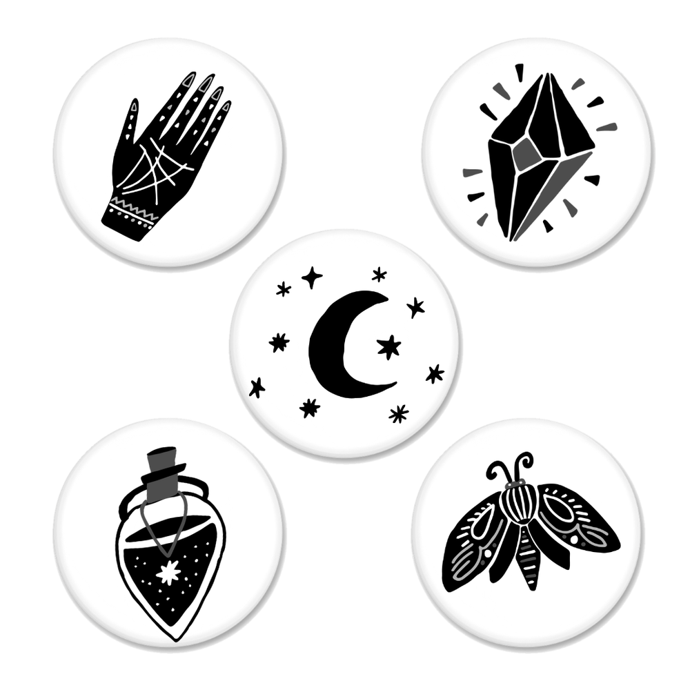 Image of Witchy Vibes Buttons