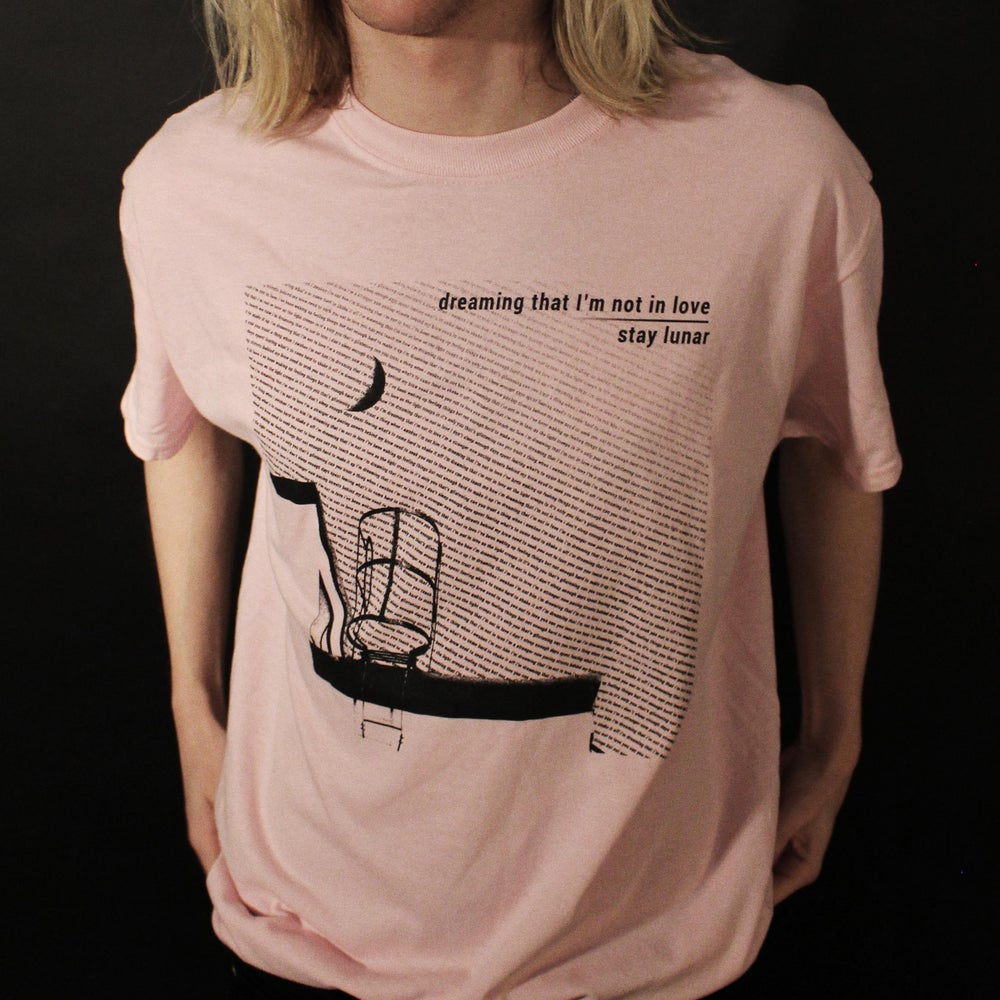 Image of 'Dreaming That I'm Not In Love' tee - PINK