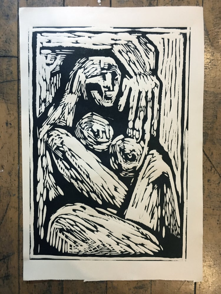 Image of Woodcut print